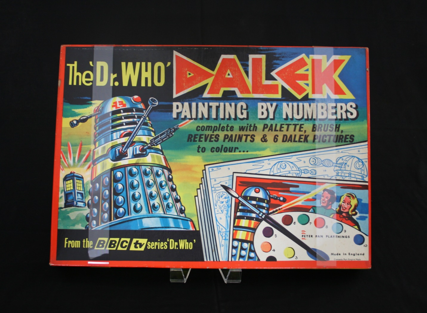 Peter Pan Playthings Ltd., The 'Dr. Who' Dalek Painting by Numbers