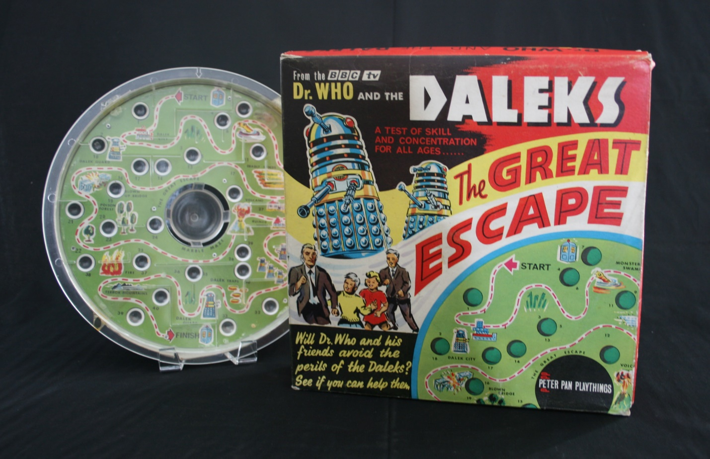 Peter Pan Playthings Ltd., Dr. Who and the Daleks, The Great Escape