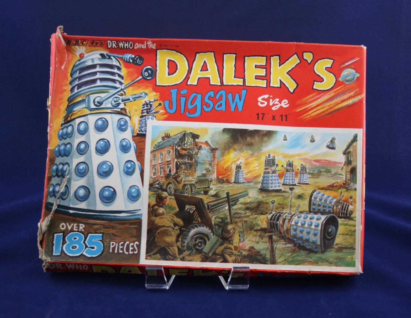 "Thomas Hope and Sankey Hudson Ltd., Dr. Who and the Daleks Jigsaw, ""Daleks Attack"""