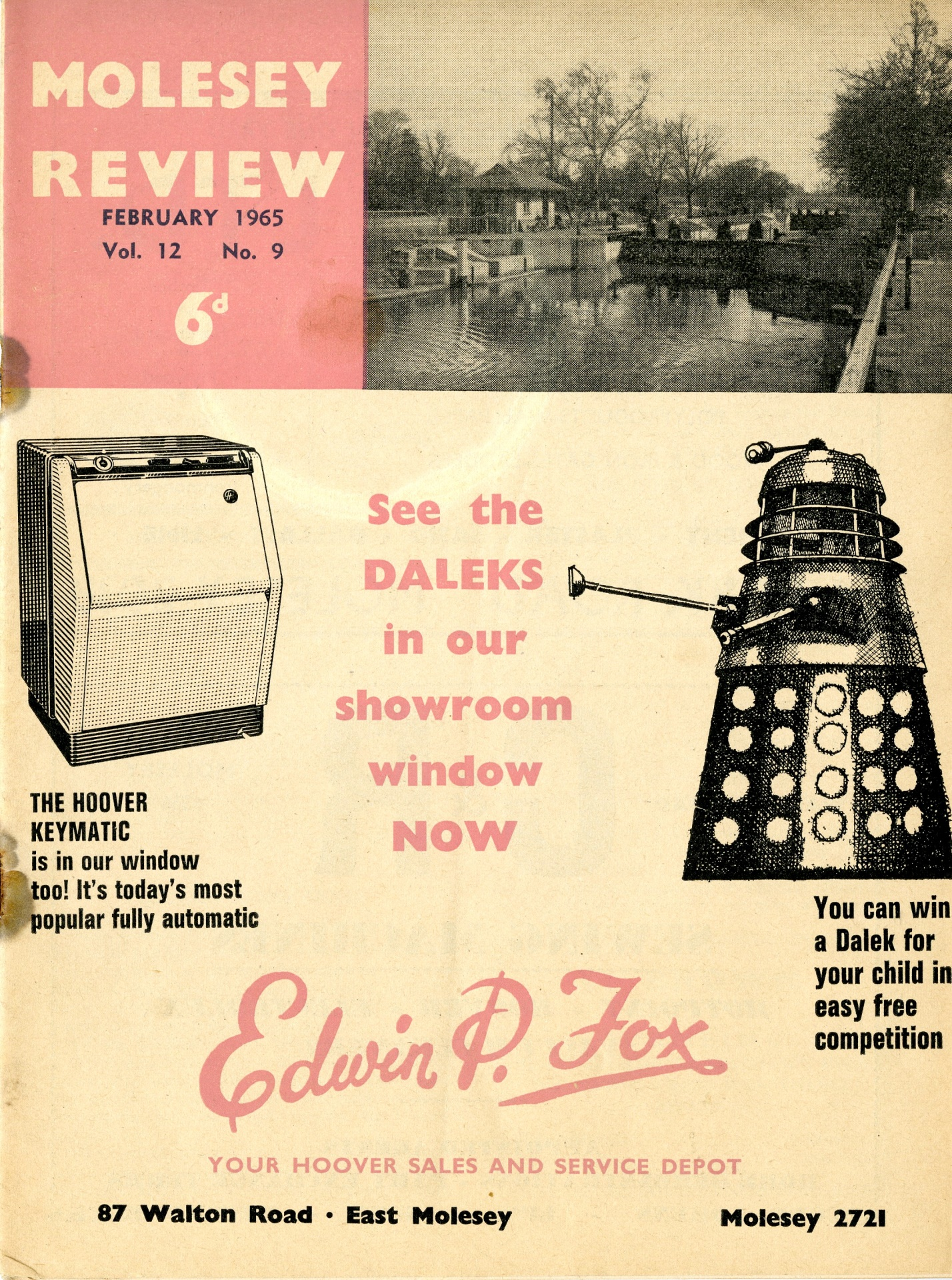 Molesey Review, East Moseley, Surrey, February 1965