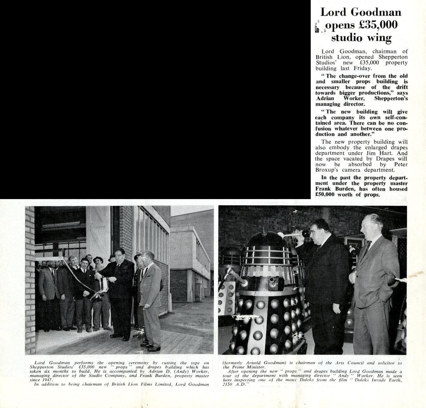 Daily Cinema, 20 April 1966