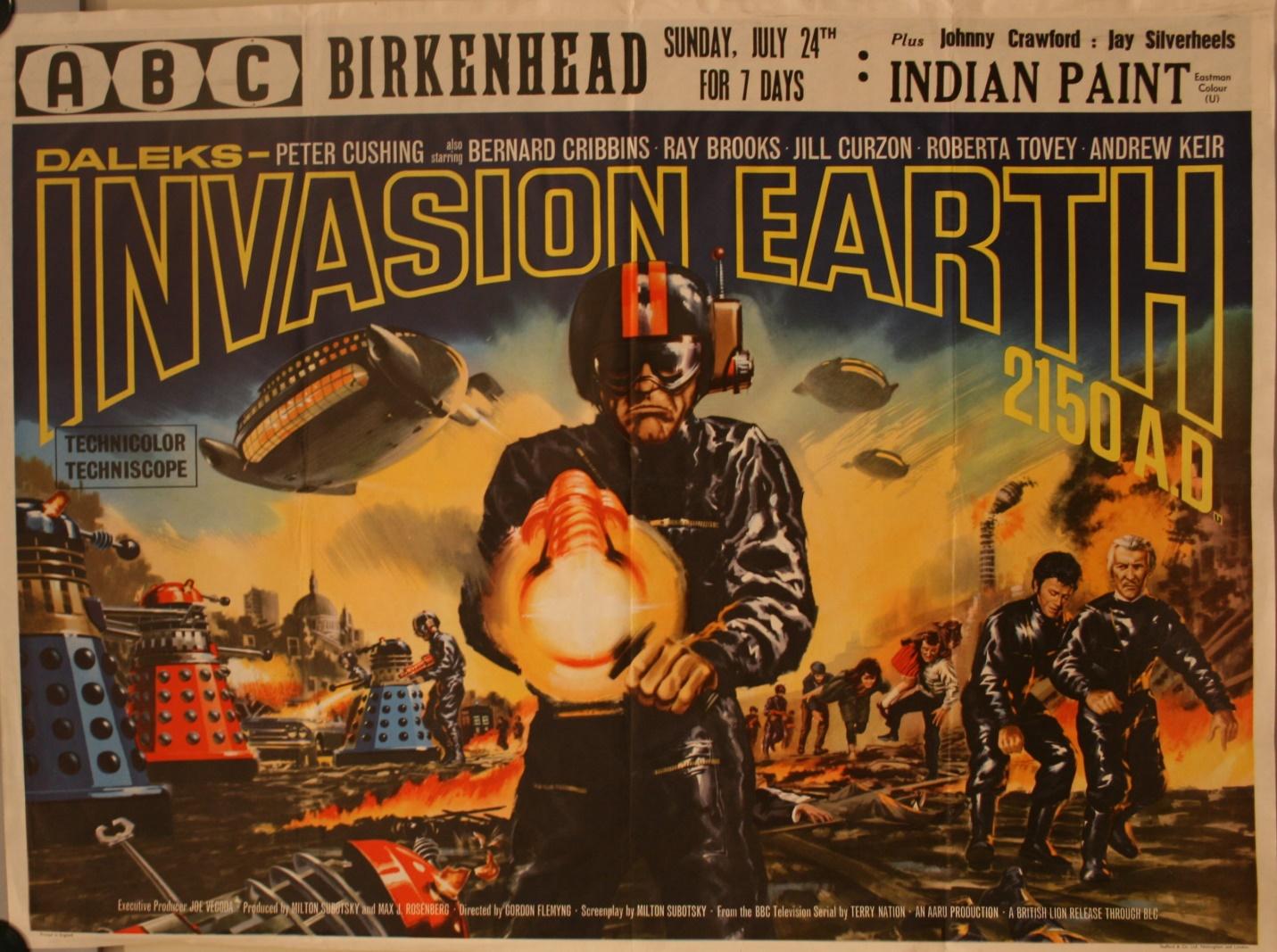 UK Quad Poster (ABC Birkenhead double bill)