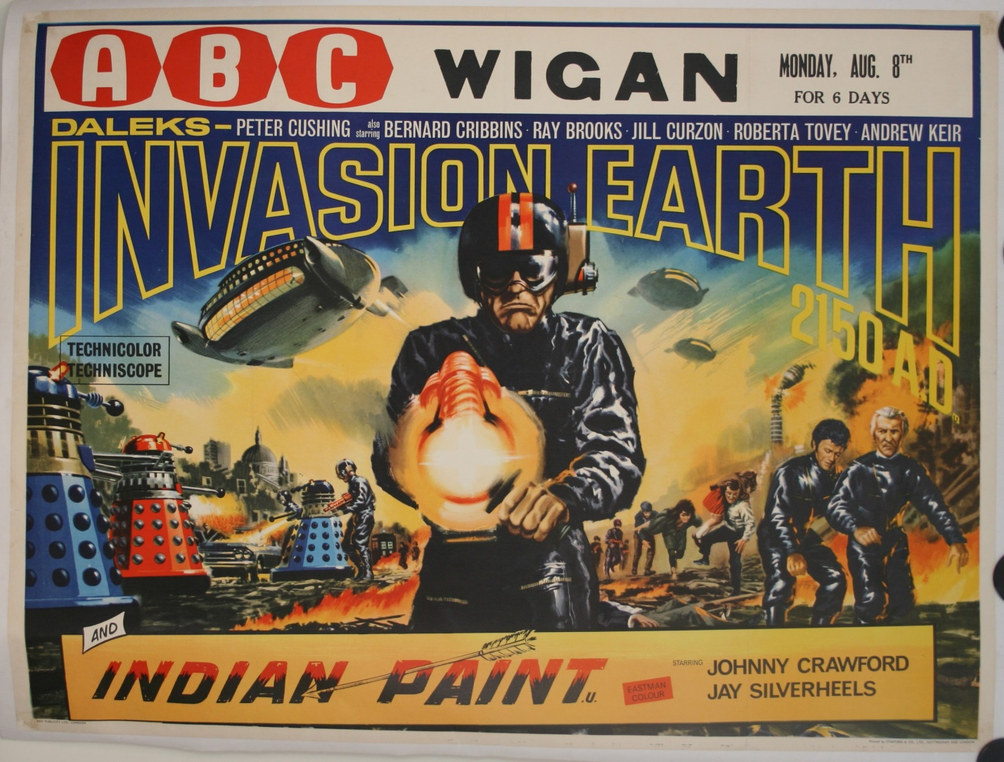 UK Quad Poster (ABC Wigan double-bill)