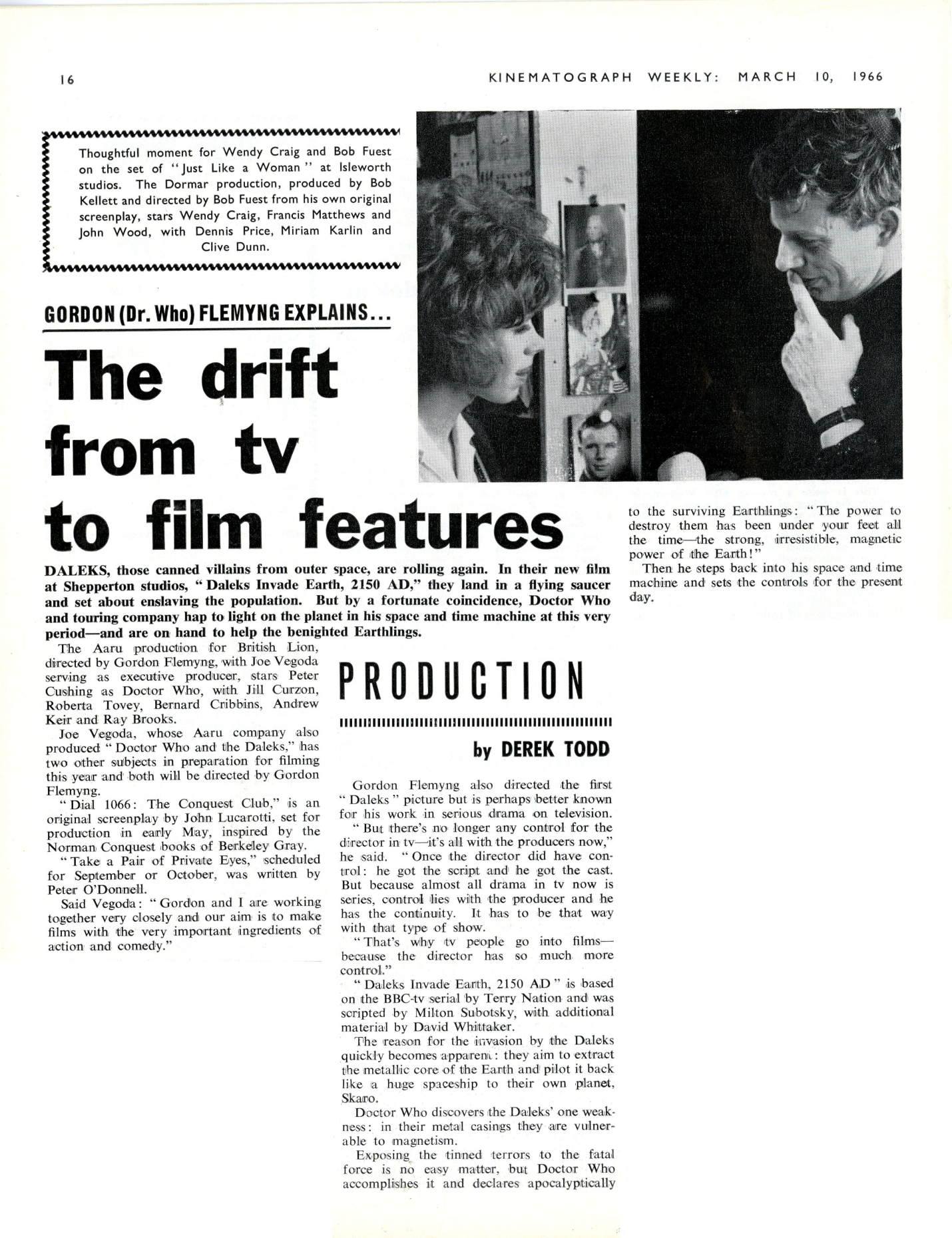 Kine Weekly, 10 March 1966