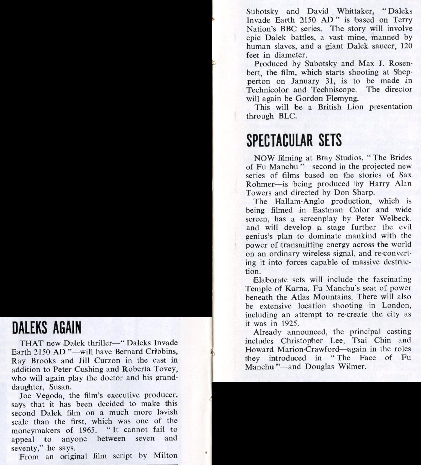Kine Weekly, 27 January 1966