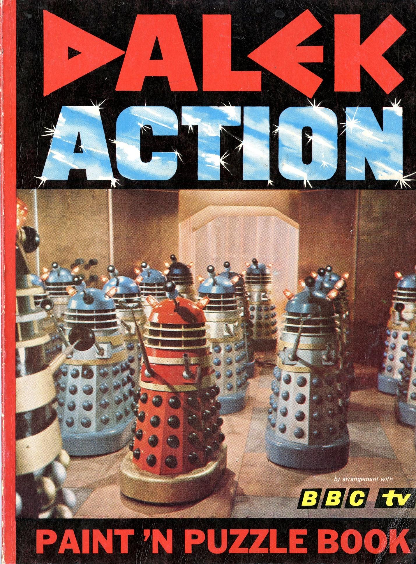 Souvenir Press Ltd., Dalek Action Paint 'n Puzzle Book