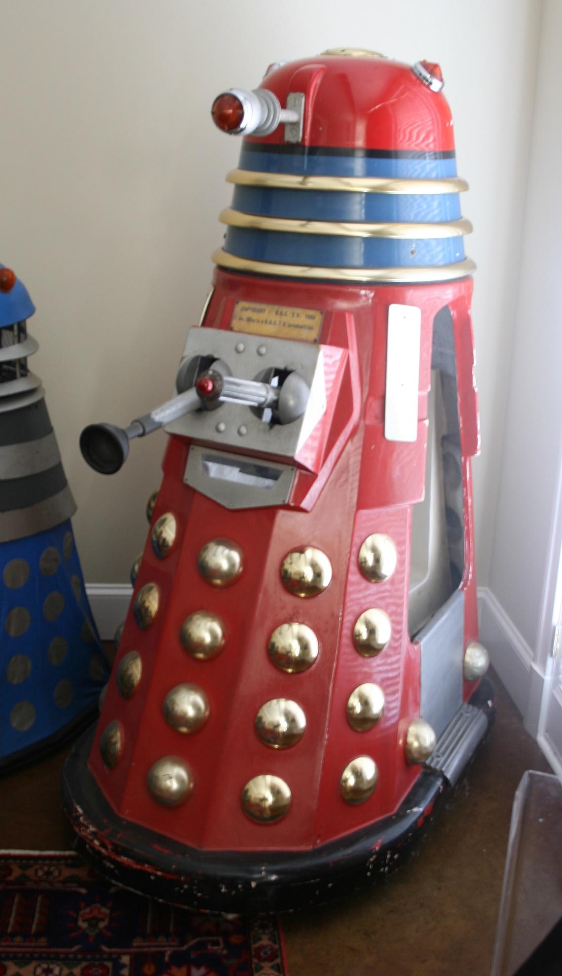 Edwin Hall & Company, Dalek Kiddy Ride, (variant with periscope)