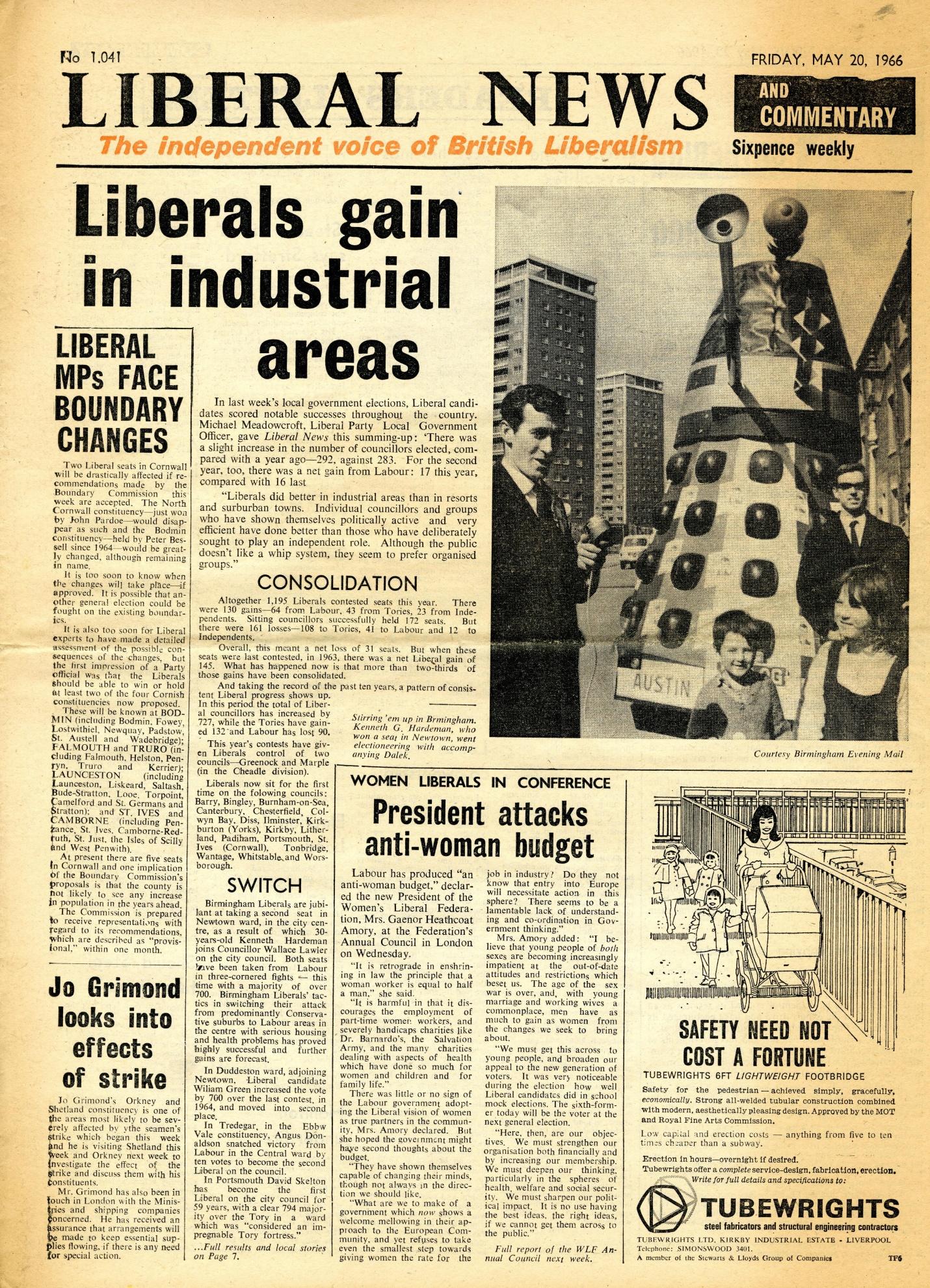 Liberal News, 20 May 1966