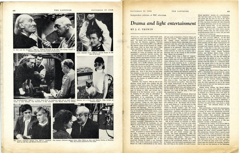 The Listener, 22 September 1966