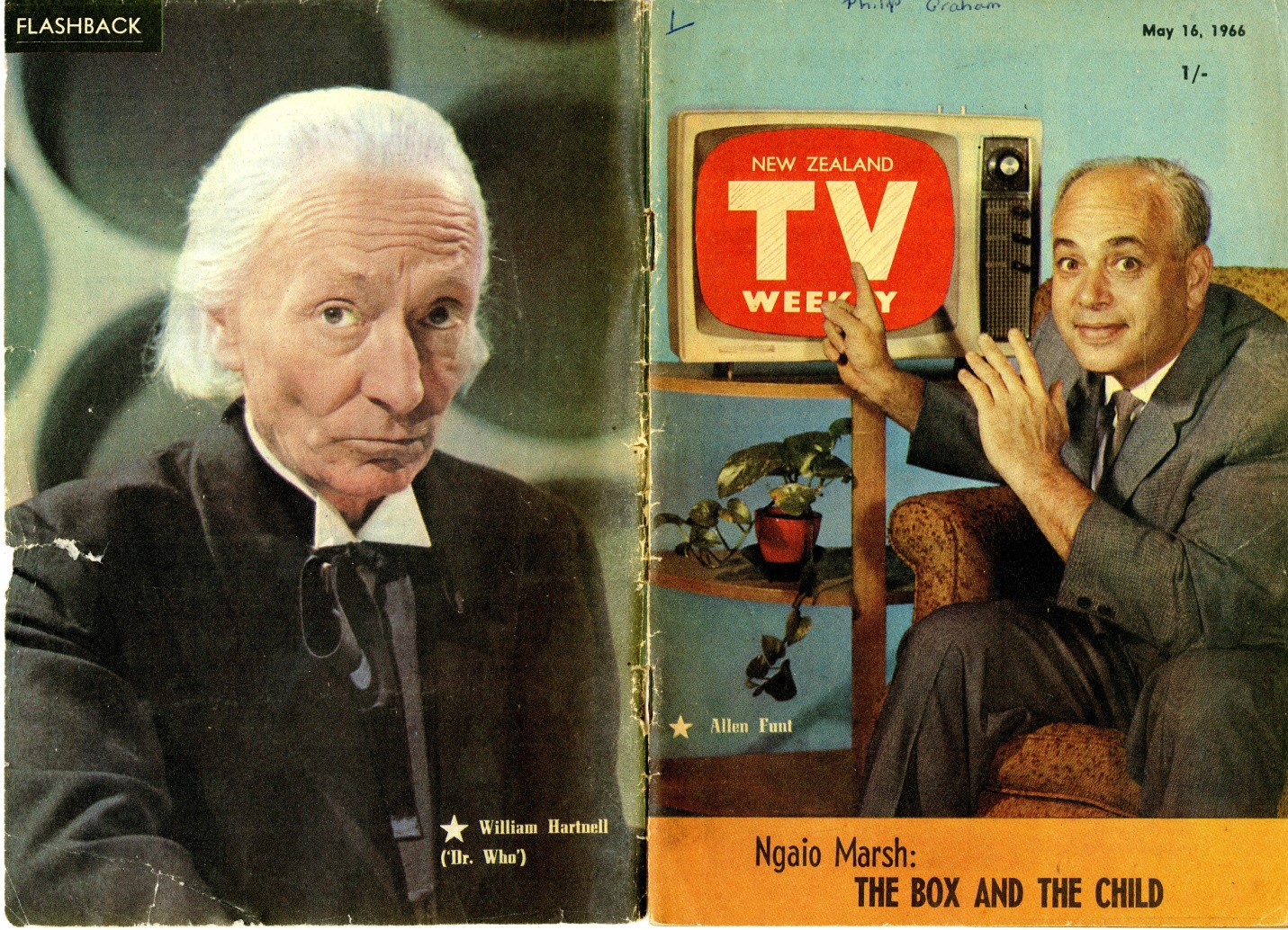 New Zealand TV Weekly, 16 May 1966