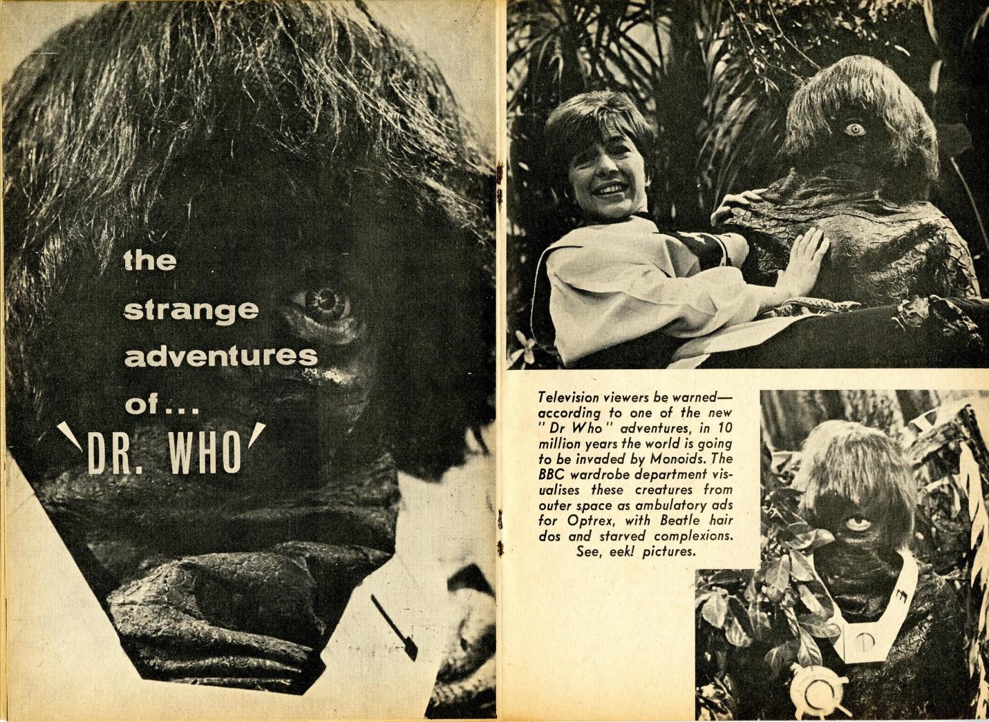New Zealand TV Weekly, 31 October 1966