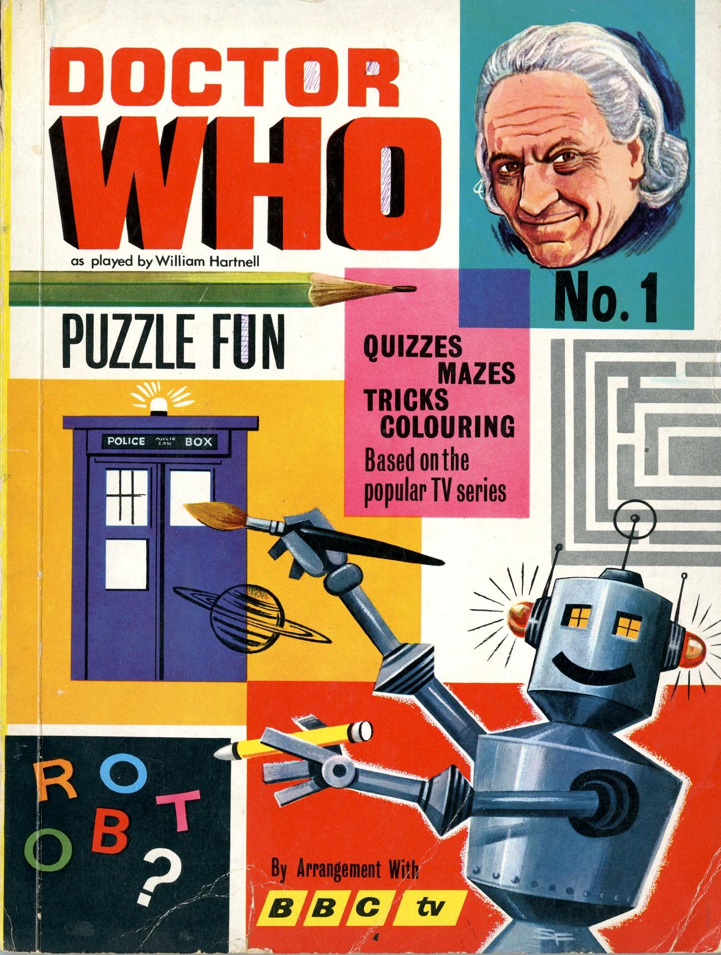 World Distributors, Dr. Who Puzzle Fun Book No. 1