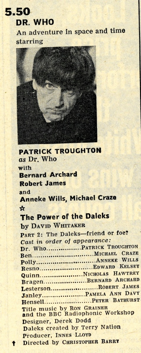 Radio Times, 12-18 November 1966