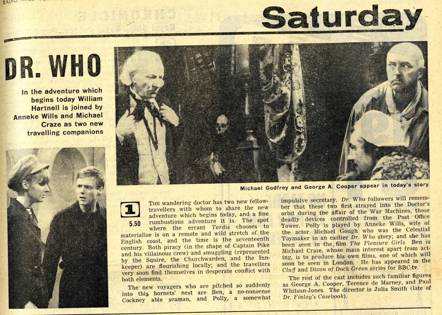 Radio Times, 10-16 September 1966