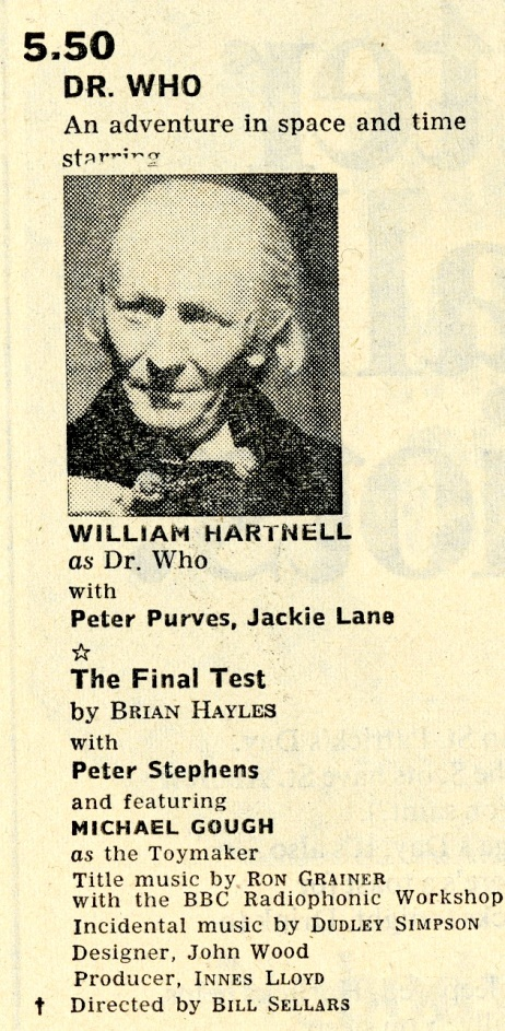 Radio Times, 23-29 April 1966