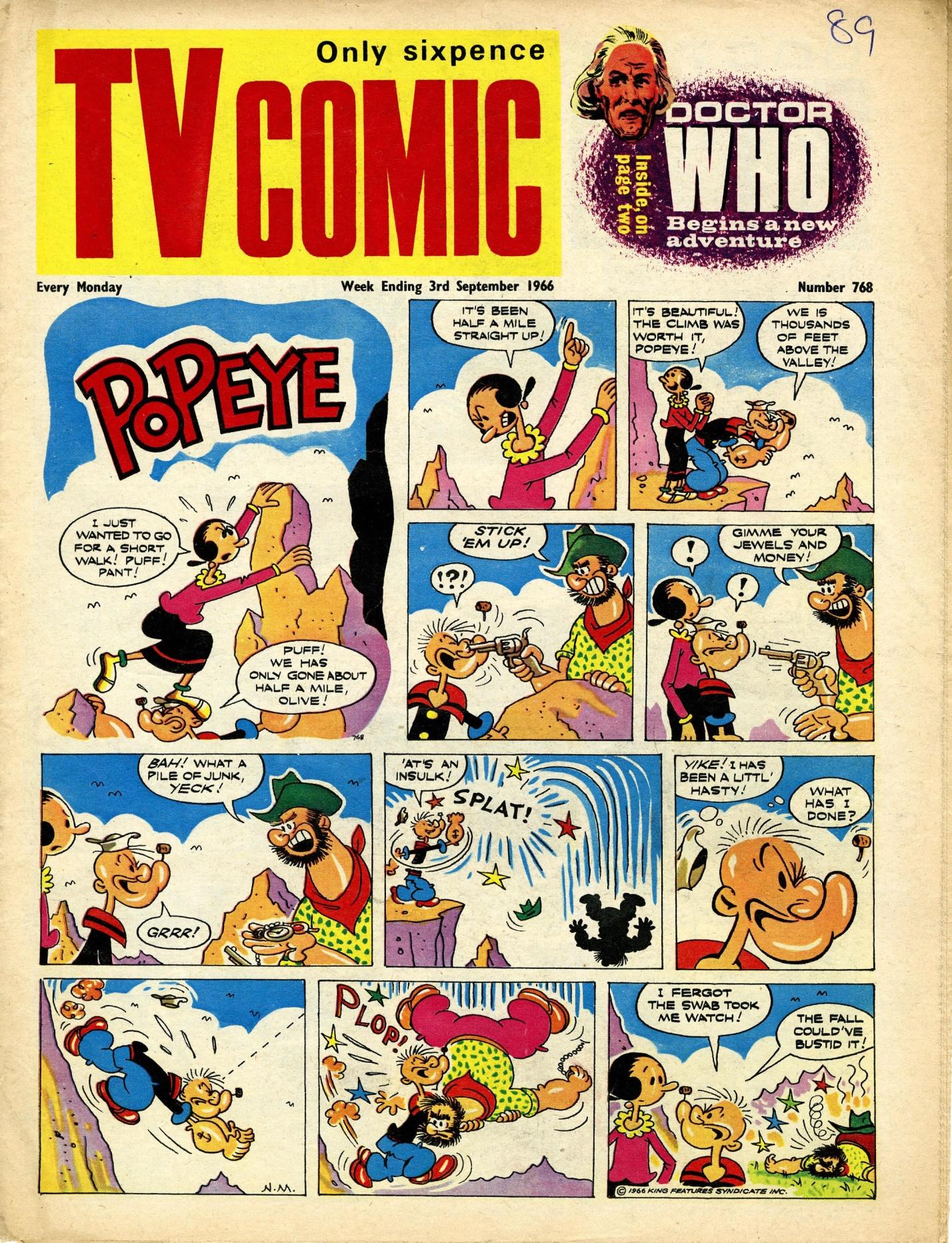 TV Comic, no. 768, 3 September 1966