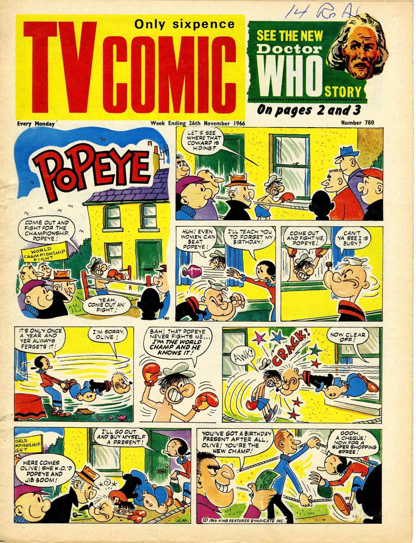 TV Comic, no. 780, 26 November 1966