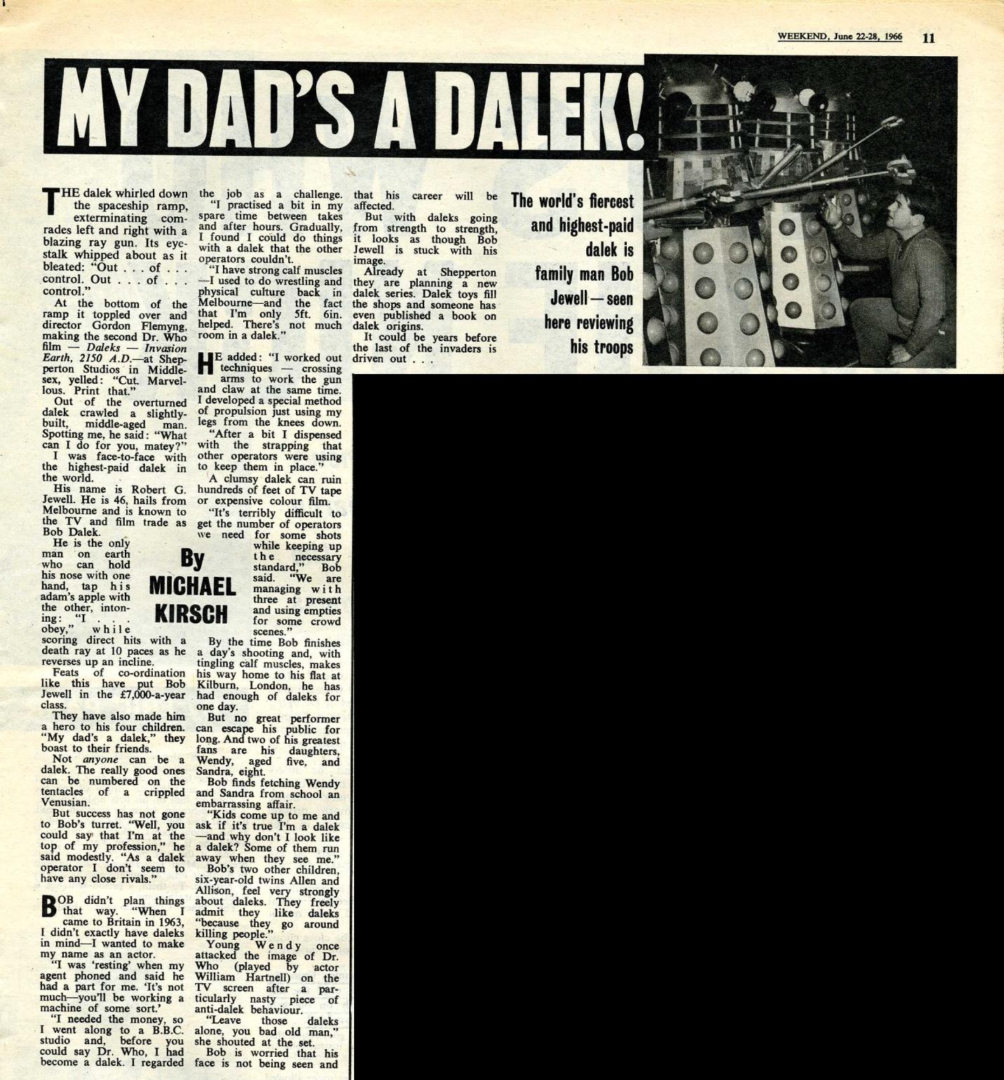 Weekend, 22-28 June 1966