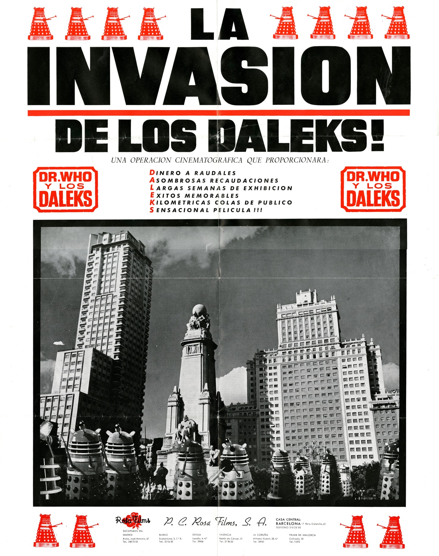 Spanish Half-Sheet Poster