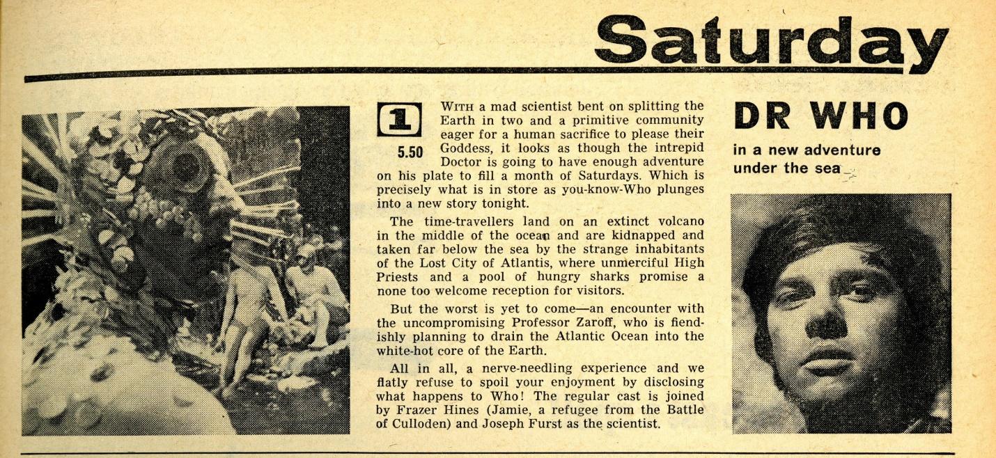 Radio Times, 14-20 January 1967