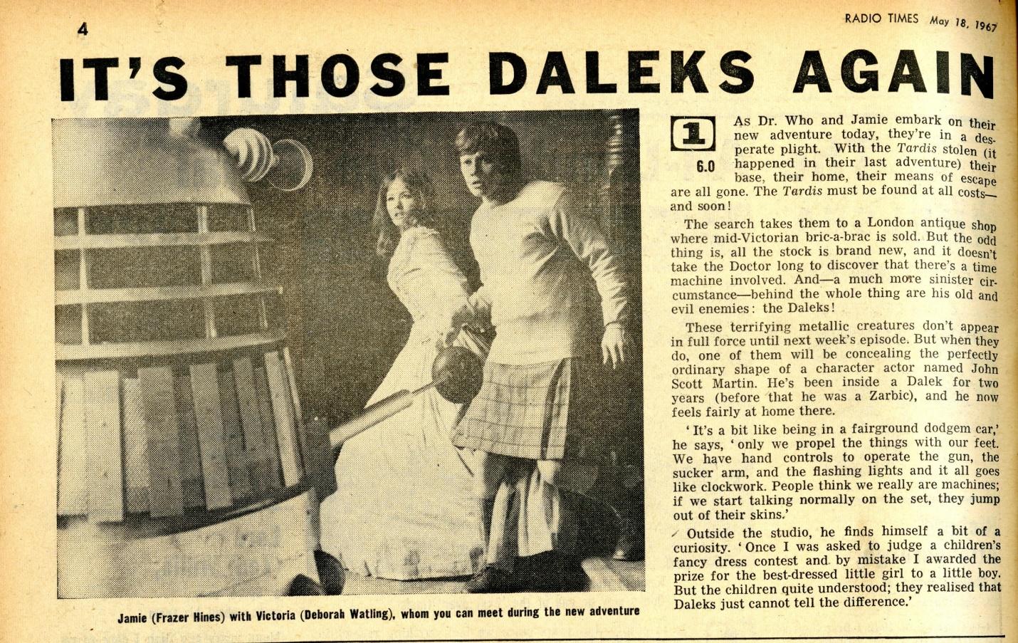 Radio Times, 20-26 May 1967