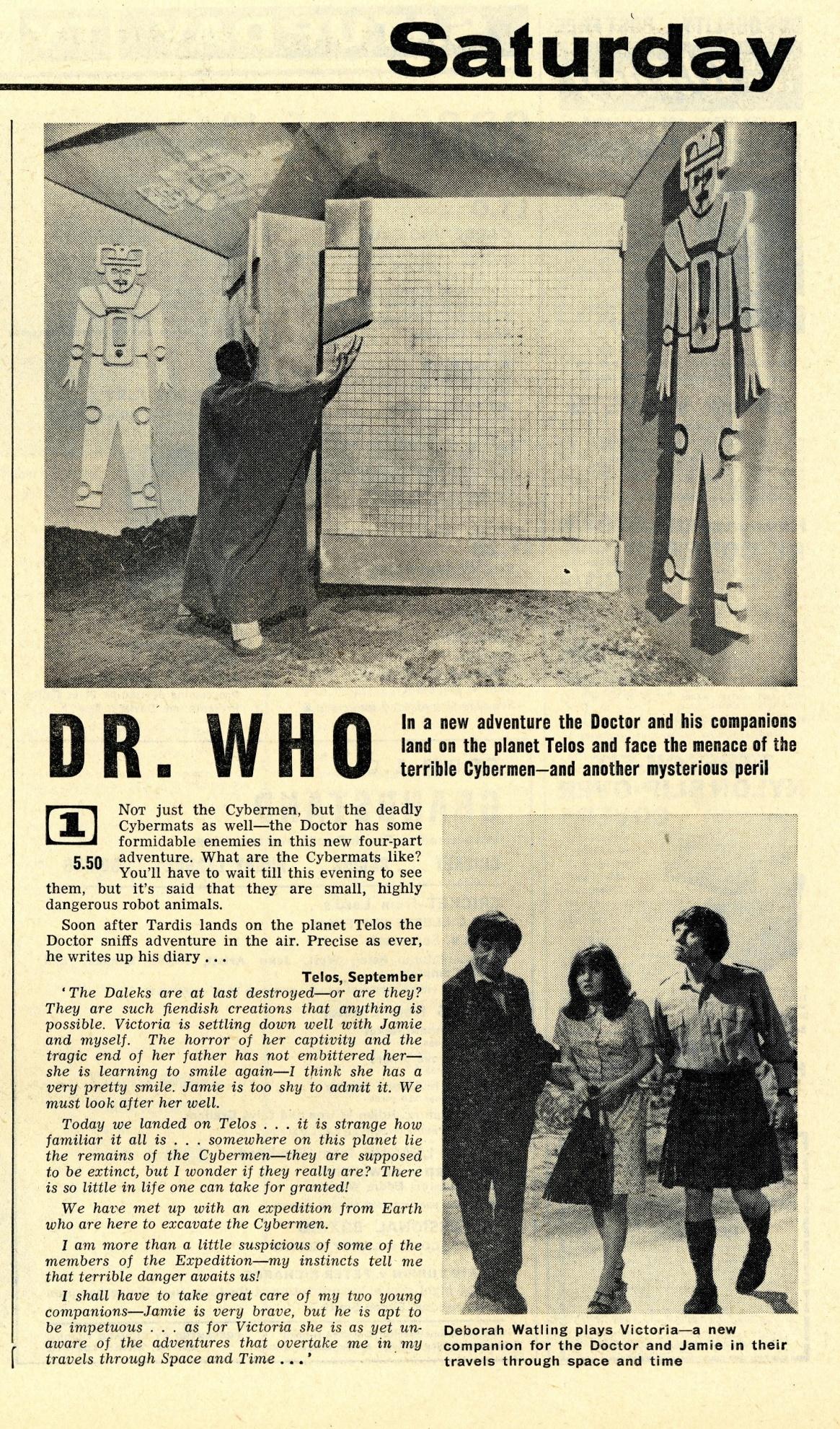 Radio Times 2-8 September 1967
