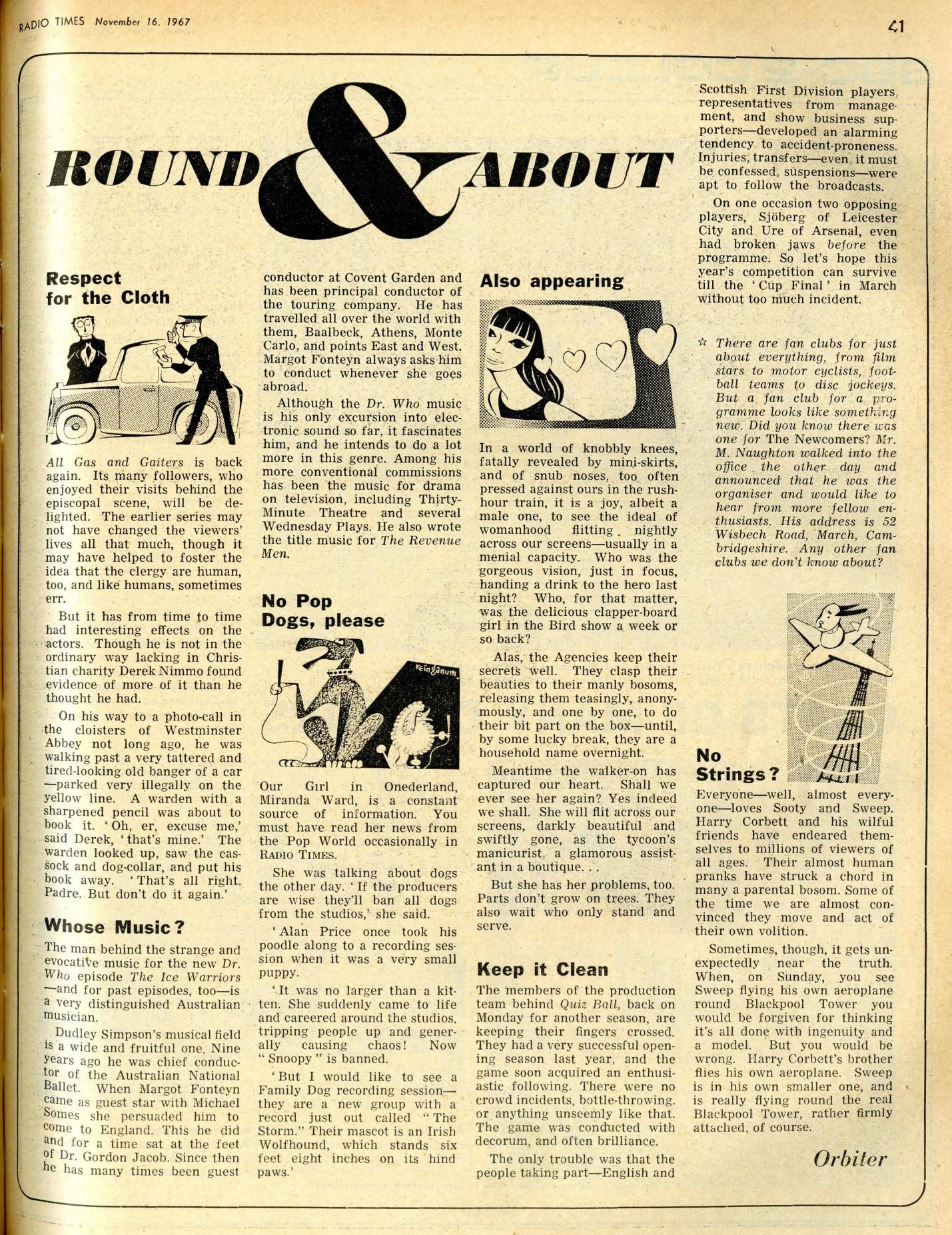 Radio Times, 18-24 November 1967