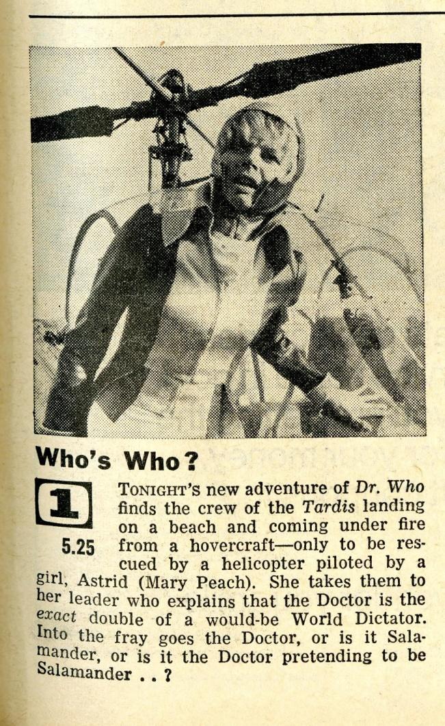 Radio Times, 23-29 December 1967