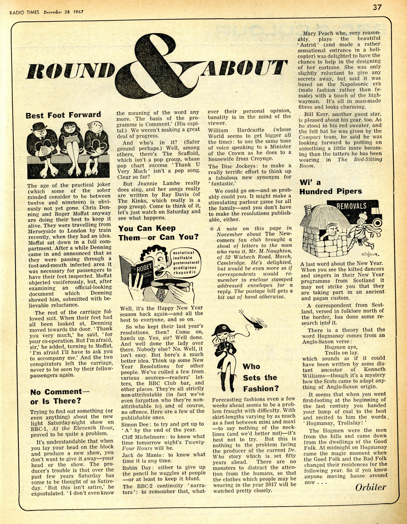 Radio Times, 30 December 1967 - 5 January 1968
