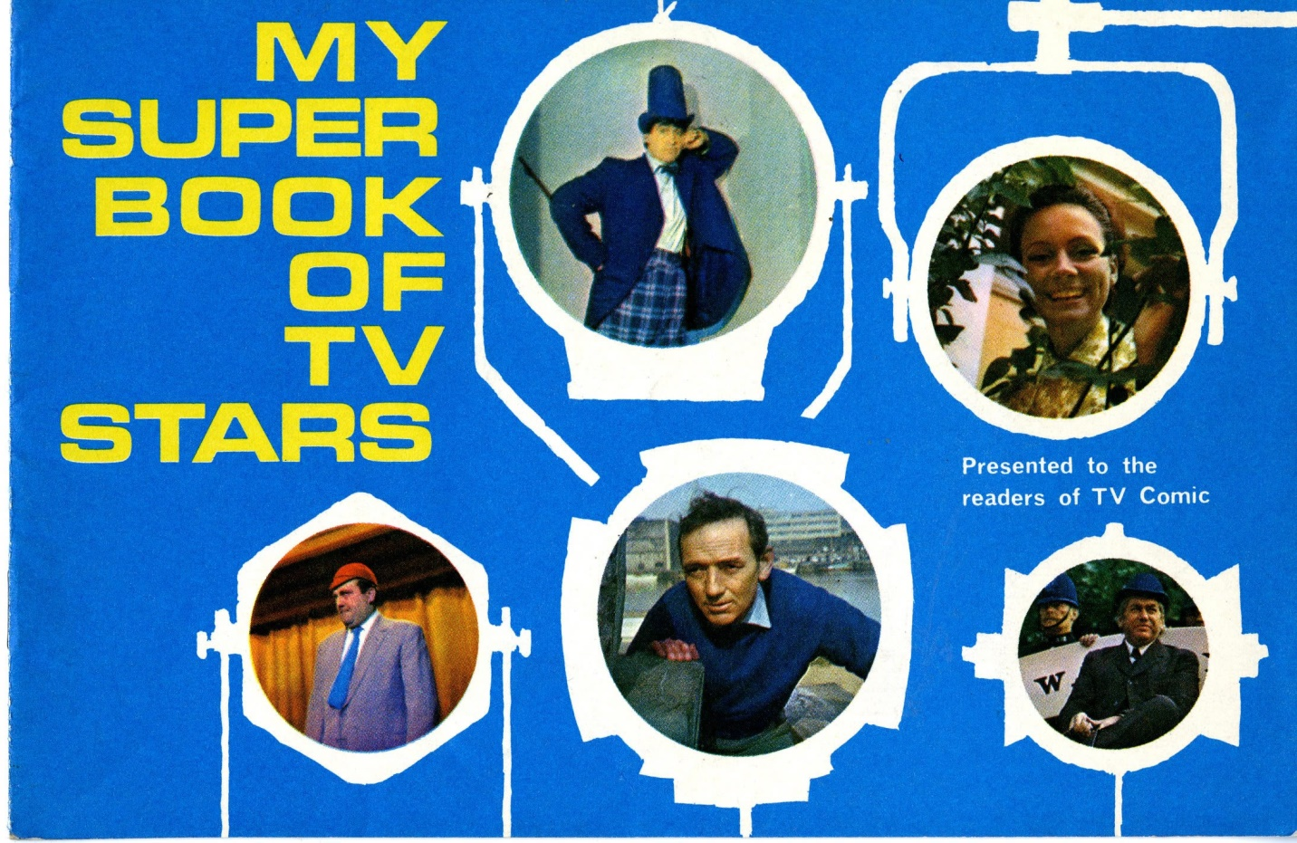 My Super Book of TV Stars, sticker book presented free to the readers of TV Comic