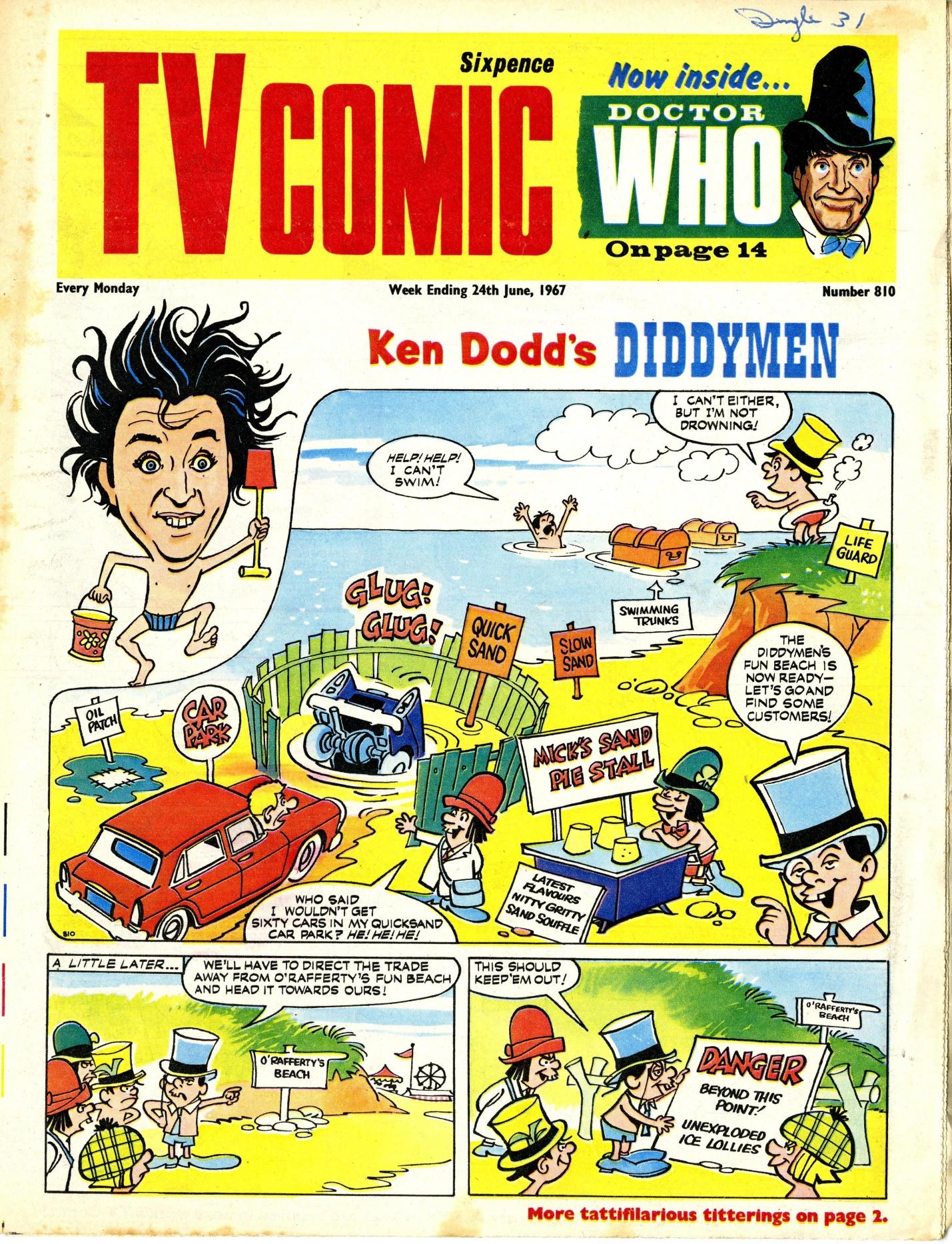 TV Comic number 810, 24 June 1967