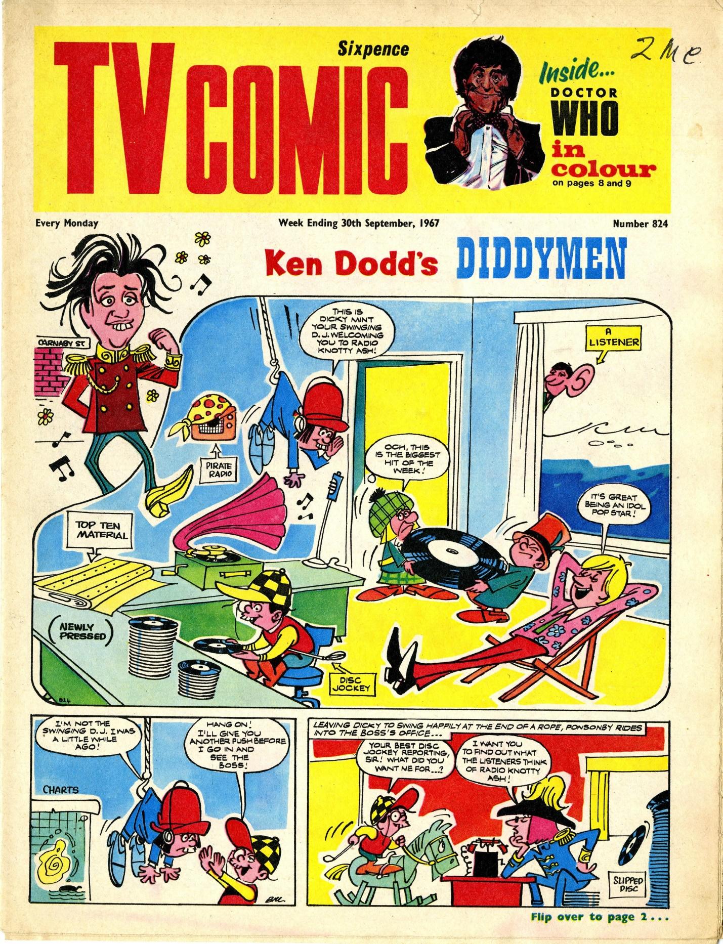 TV Comic number 824, 30 September 1967