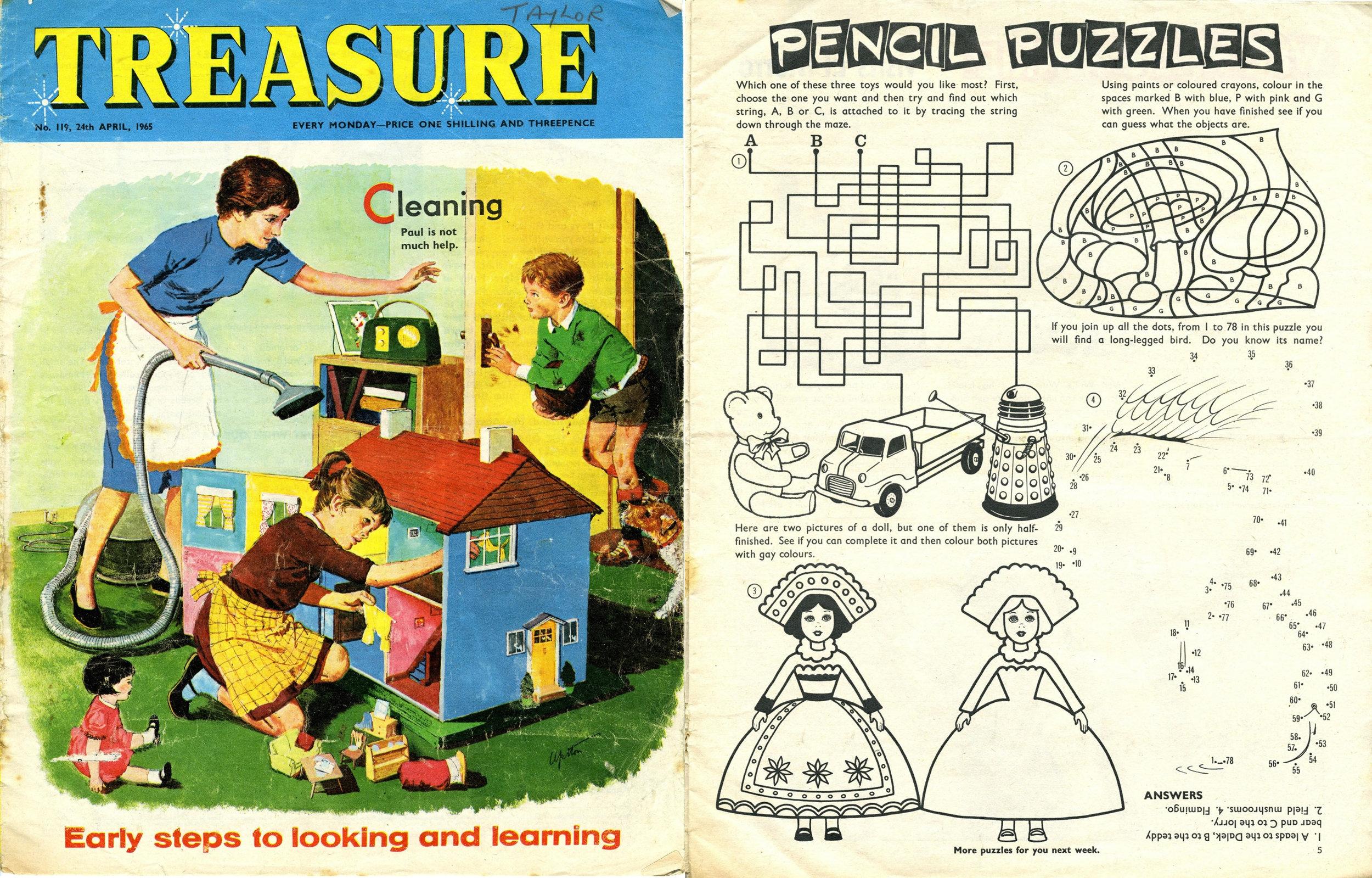 Treasure, 24 April 1965