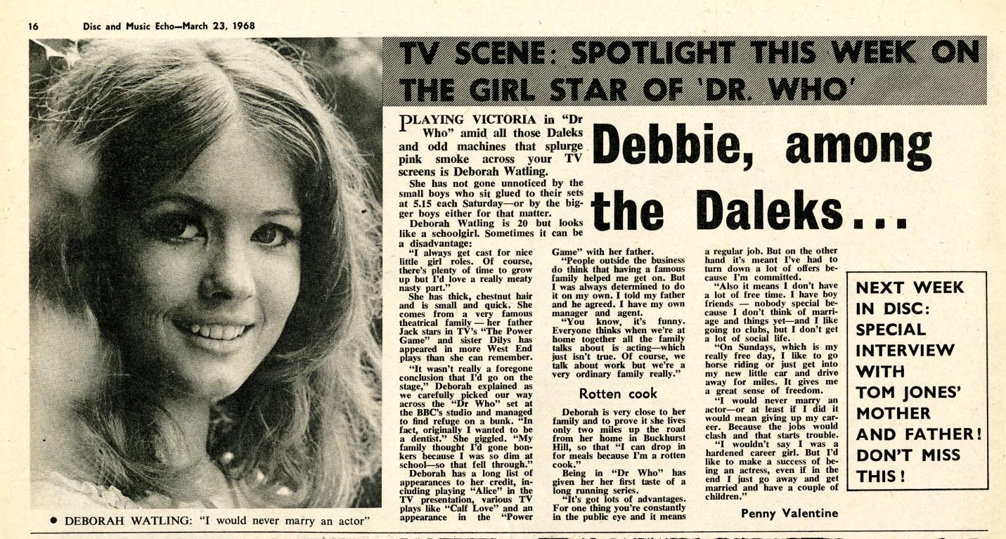 Disc & Music Echo, 23 March 1968