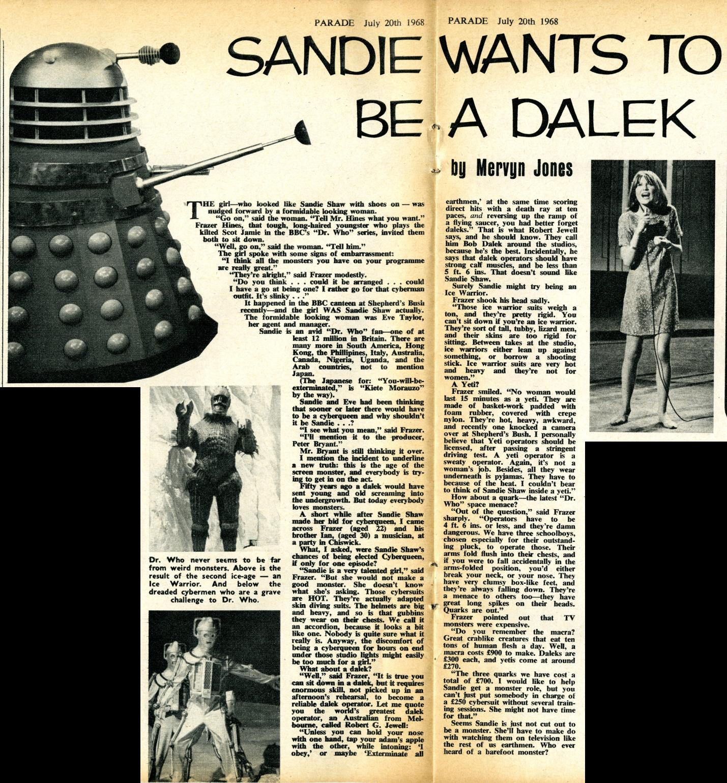 Parade, 20 July 1968