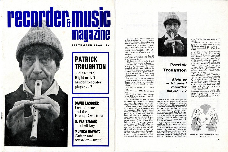 Recorder & Music Magazine, September 1968
