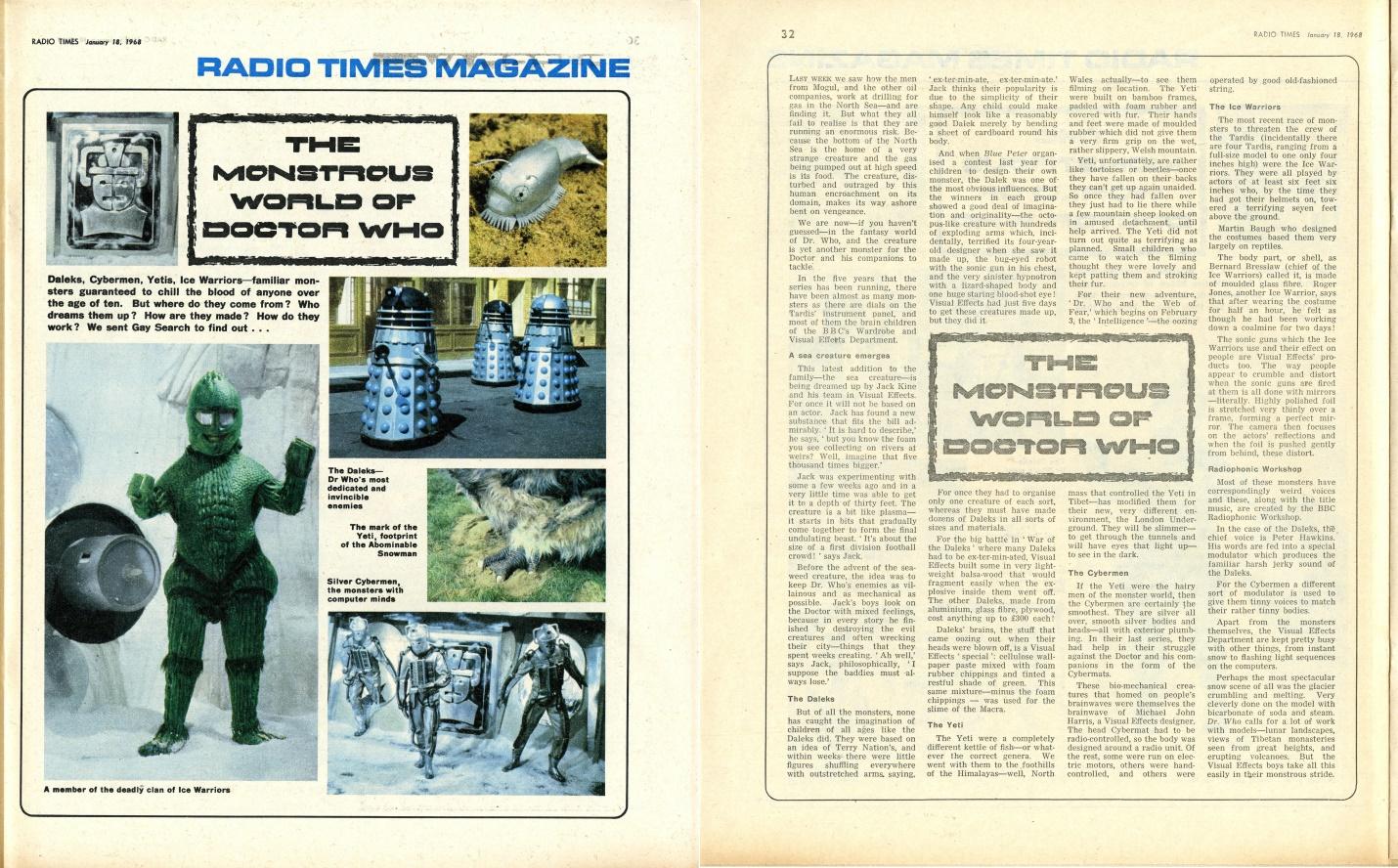 Radio Times, 20-26 January 1968