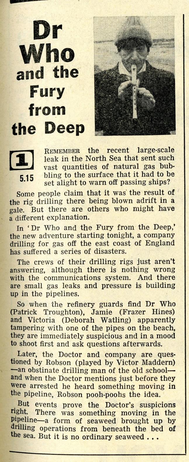 Radio Times, 16-22 March 1968