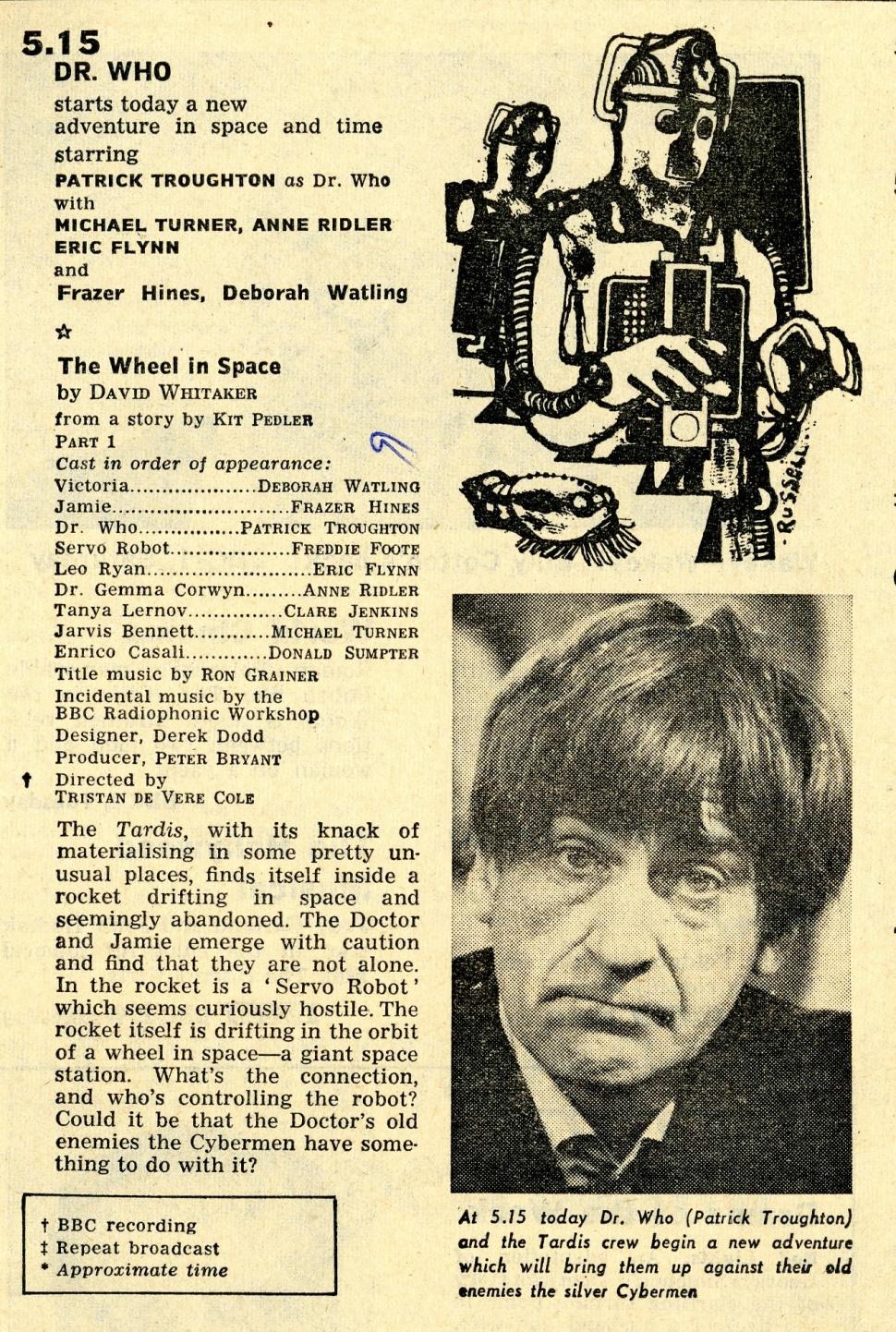 Radio Times, 27 April - 3 May 1968