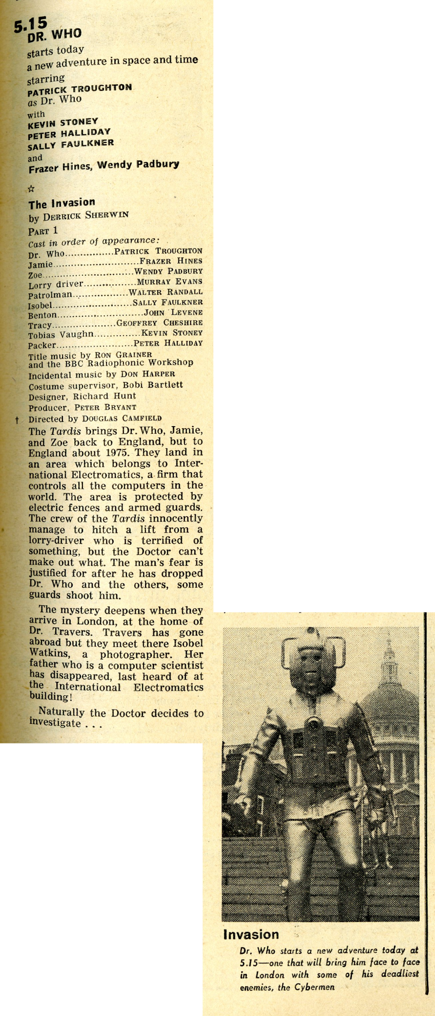 Radio Times, 2-8 November 1968