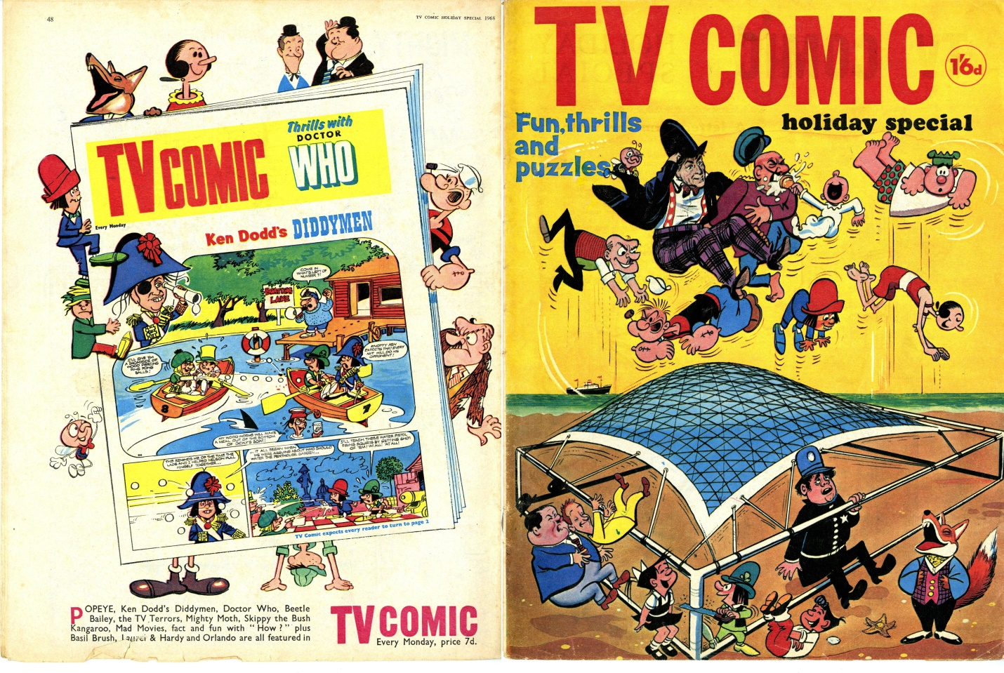 TV Comic Holiday Special, 1968