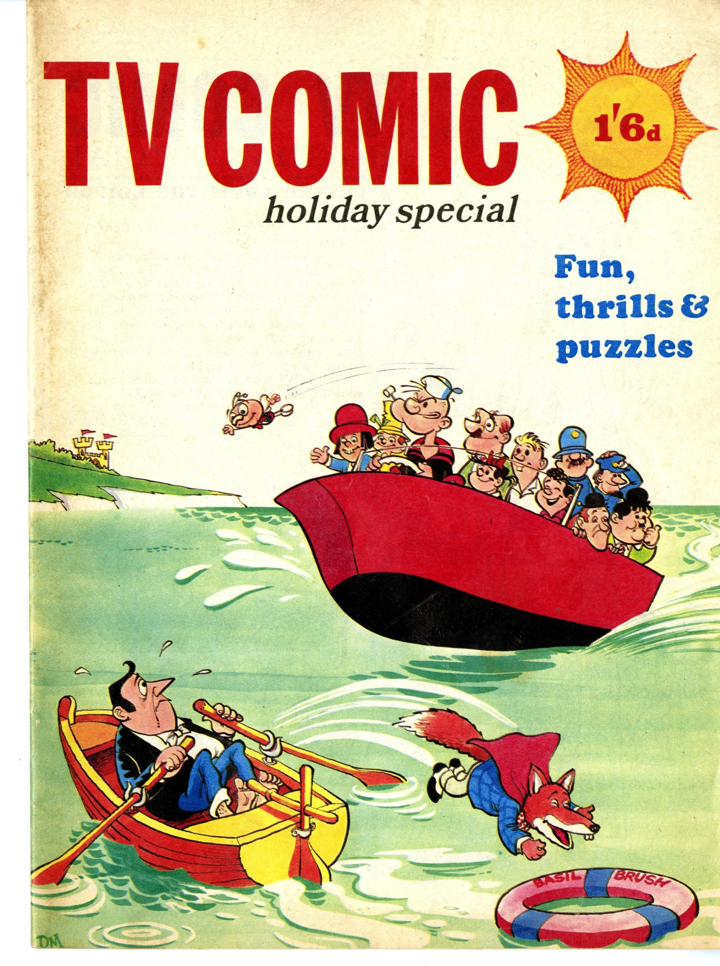 TV Comic Holiday Special 1969
