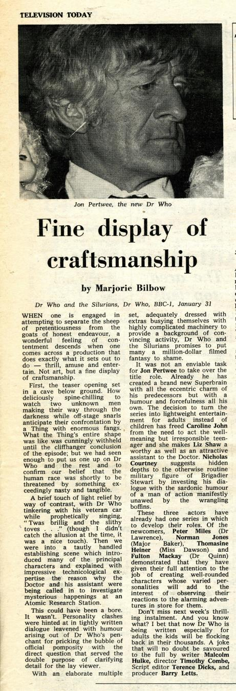 Stage and Television Today, 5 February 1970