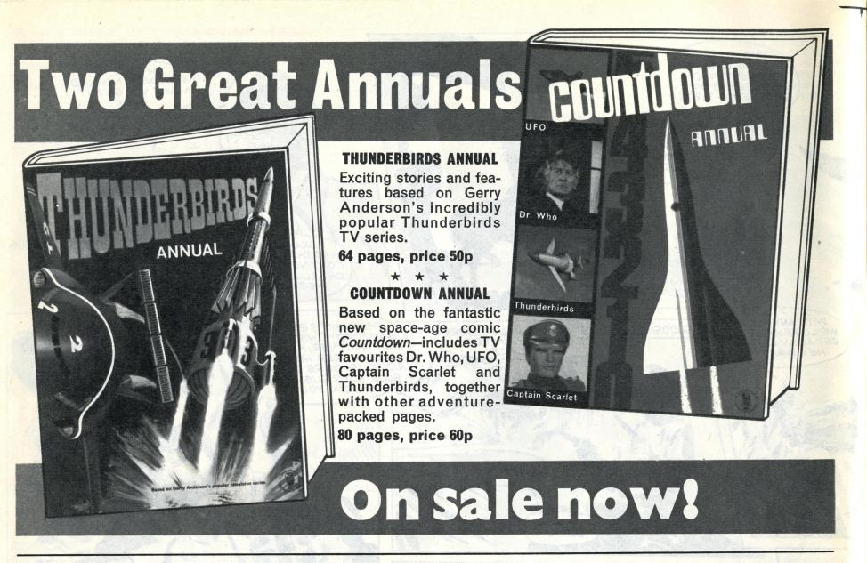 Ad. for the Countdown Annual in Countdown issue 38, 6 November 1971