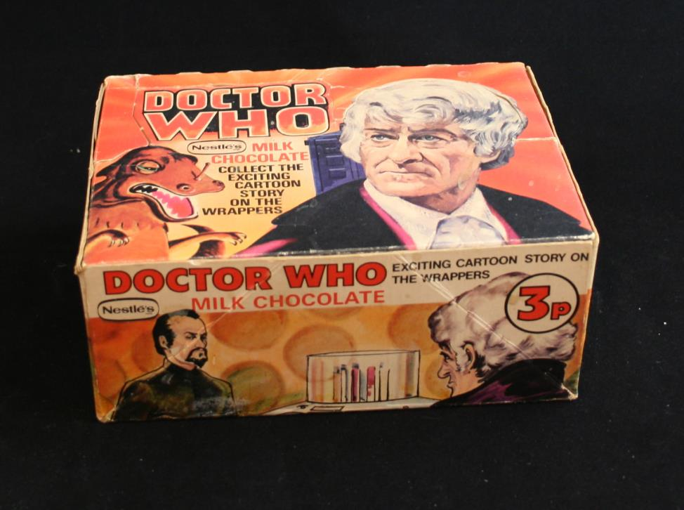Nestle Doctor Who promotion, counter display box, revised version 1971