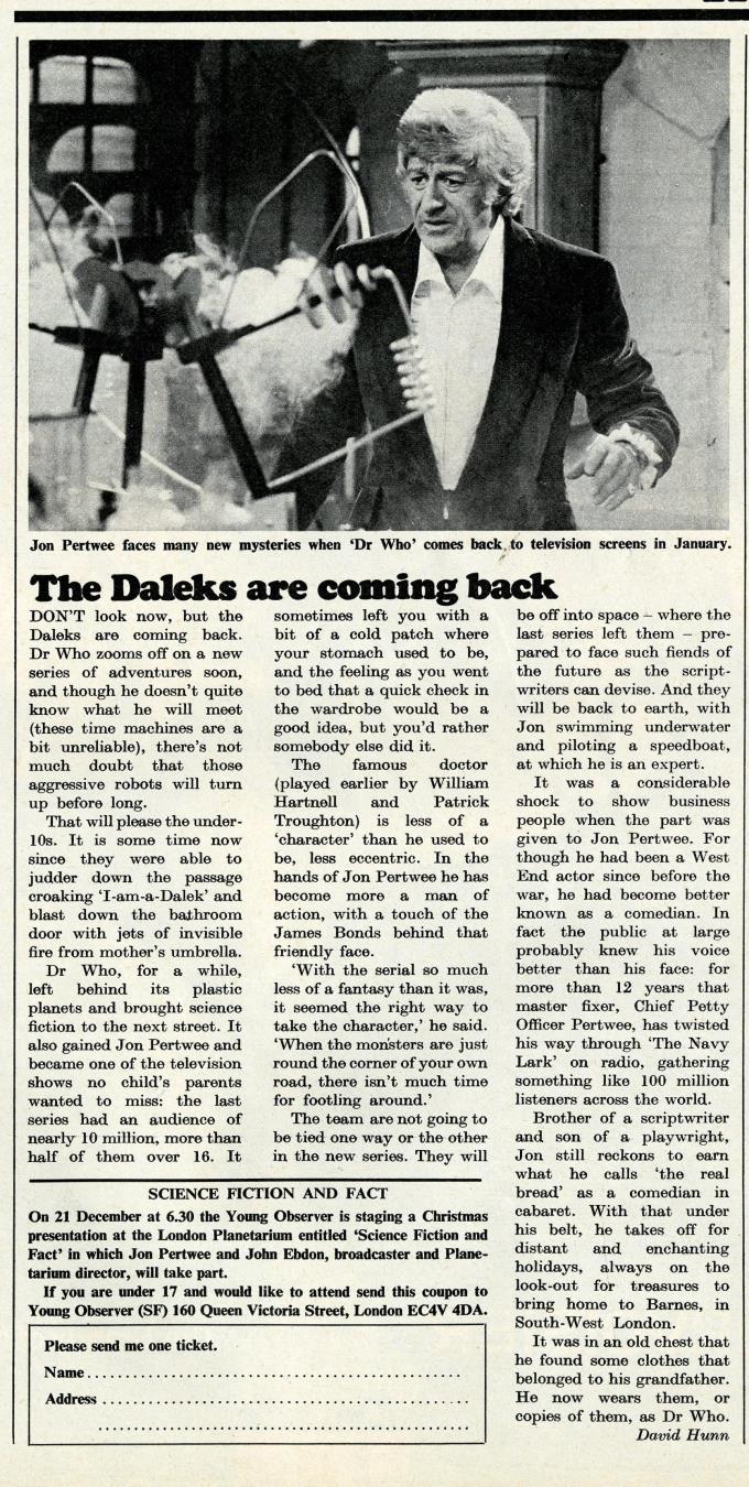 The Observer, 28 November 1971