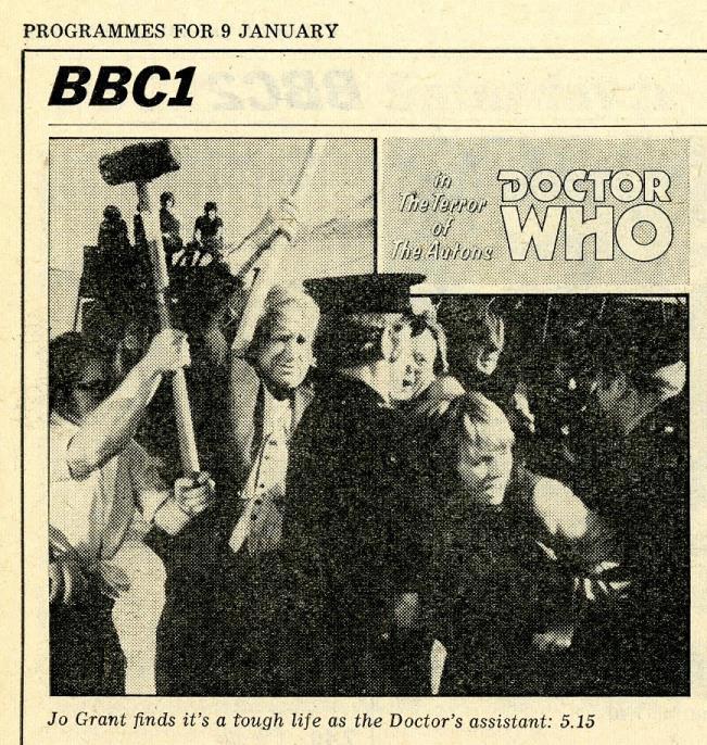 Radio Times, 9-15 January 1971