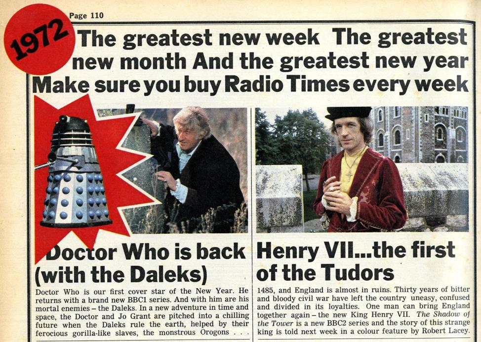Radio Times, 18-31 December 1971