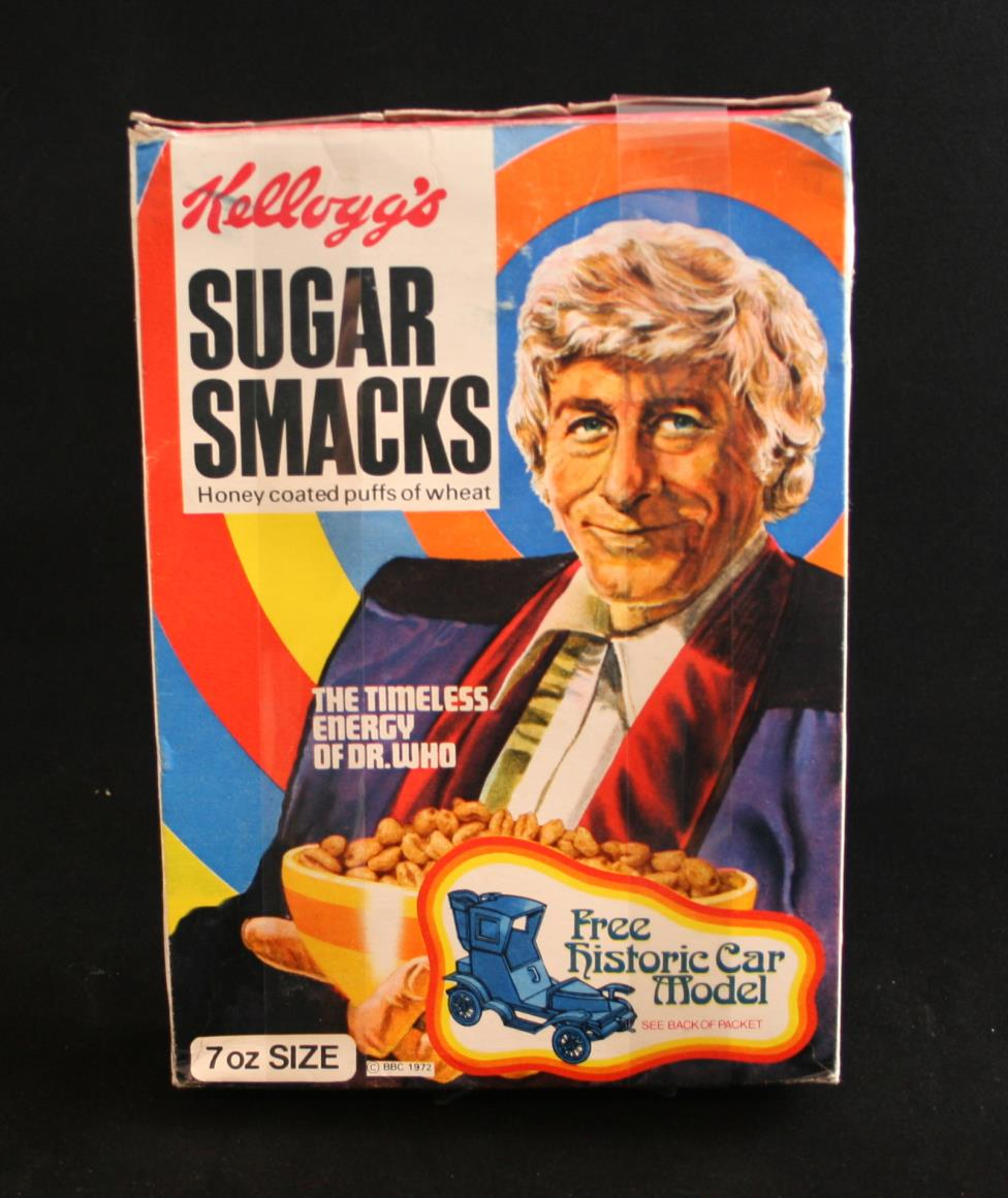 Kellog's Sugar Smacks with historic car model promotion