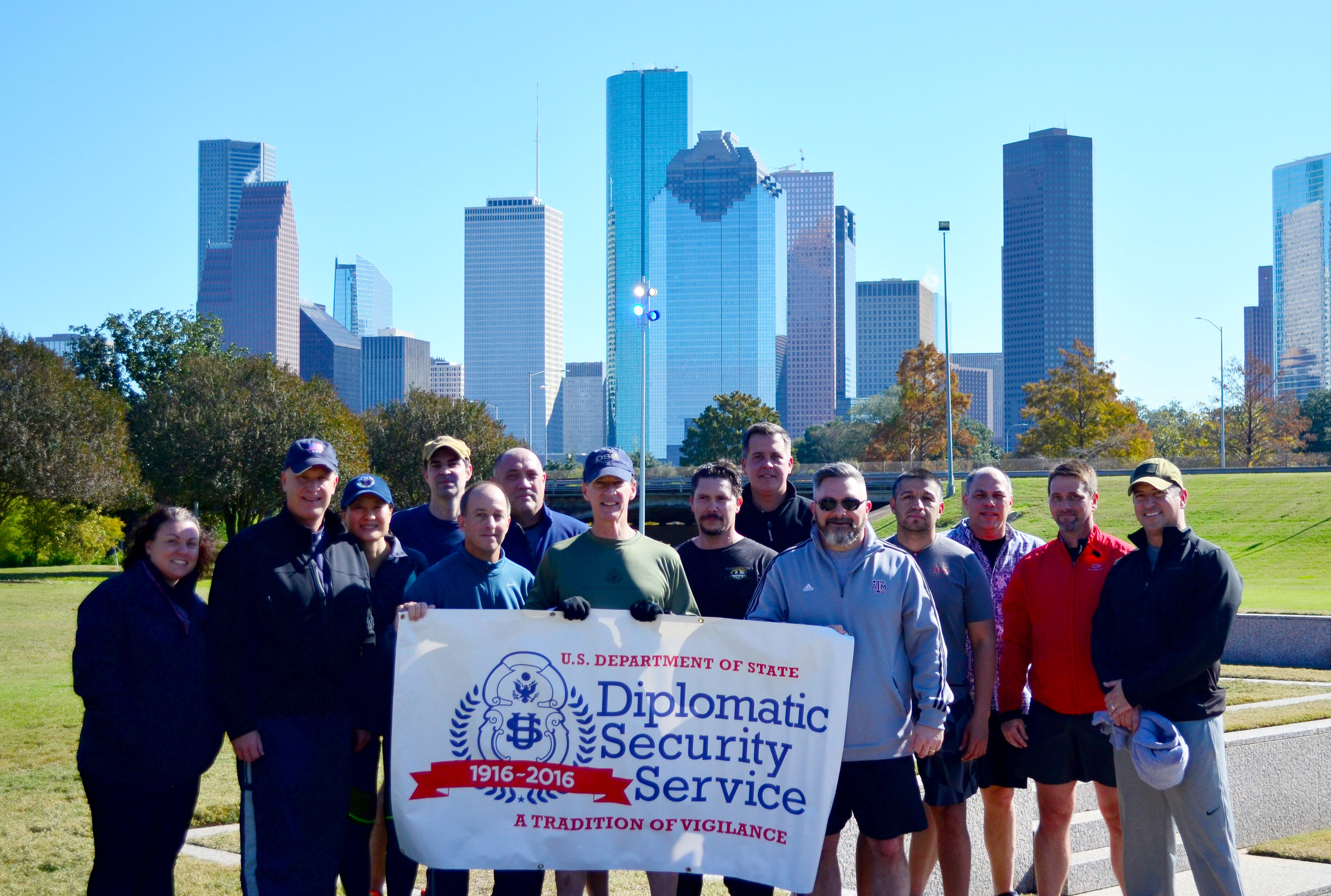 The Houston Field Office raised $460 for DSF